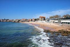 Resort Town of Estoril in Portugal - stock photo
