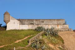 Fort of Sao Pedro in Estoril - stock photo