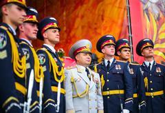 Ukrainian Defense Minister Poltorak Stock Photos
