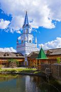 Izmailovo Kremlin - Moscow Russian - stock photo