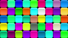 Buttons Background, Seamless Loop Stock Footage