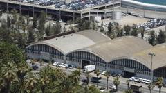 Multi-Storey Parking Lot Stock Footage