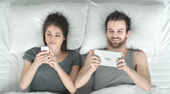 Bedtime Fun - stock footage