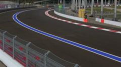 Sochi International Street Circuit Stock Footage