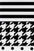 Black and White Geometric Canvas Stock Photos
