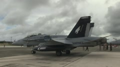 All-Weather Fighter Attack Squadron 533 during exercise Valiant Shield Stock Footage
