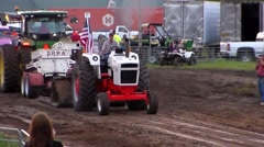 Stock Video Footage of Tractor Pull