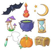 Magic and Fairy Tale Vector Stock Illustration