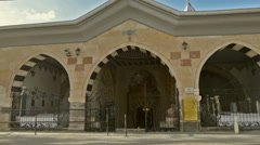 Entrance of Haji Bektash Veli Tomb Stock Footage