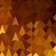 Stock Illustration of Burnt Umber Brown Abstract Low Polygon Background