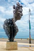 Art installation at the Havana Biennale Stock Photos