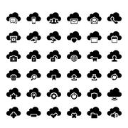 Cloud Icon Stock Illustration