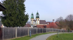 Wallfahrtskirche Mariahilf church in Passau, Bavaria, Germany Stock Footage