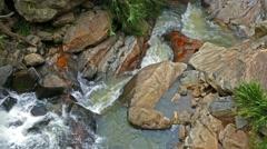 Waterfall Ella in Sri Lanka - 4k Stock Footage