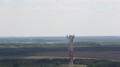 The Cellular Tower - stock footage