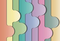 Abstract colorful background. - stock illustration