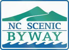 North Carolina Scenic Byway Piirros