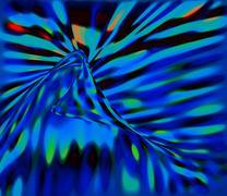 Nice chromatic abstraction Stock Illustration