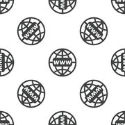 Global network pattern Stock Illustration
