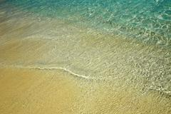 Nice blue water ripples near a shore in the Indian Ocean Kuvituskuvat
