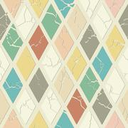 Geometric seamless pattern - stock illustration