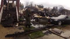 Hurricane Sandy damage Arkistovideo