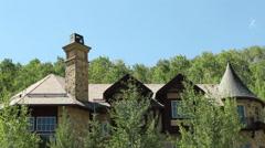Luxury home exteriors Stock Footage