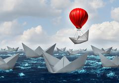 Business Advantage Concept - stock illustration