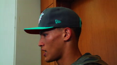 Brad Kaaya Interview Stock Footage