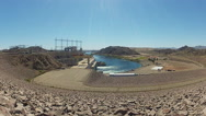 Stock Video Footage of Hydroelectric Davis Dam Power Plant- Laughlin NV