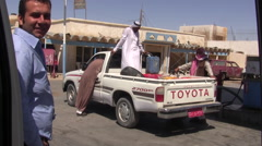 Petrol Station in the Sinai Peninsula Stock Footage
