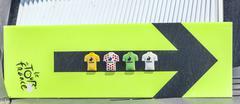 Route Indicator of Le Tour de France - Tour de France 2013 - stock photo