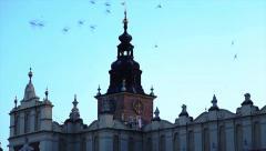 Krakow, Poland (Sukennica) Old Town Stock Footage