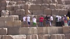 Pyramids of Giza Stock Footage