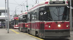 Streetcars of Toronto Stock Footage