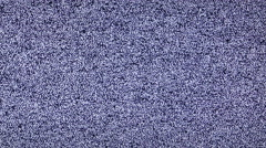 White noise no channel signal  - stock footage