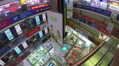 Stock Video Footage of huaqiangbei shenzhen electronics market