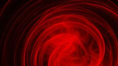 Red saturated energy circles - stock illustration