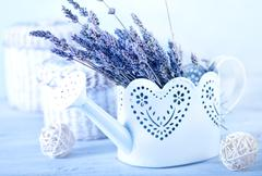 bouquet of lavender - stock photo