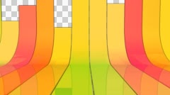 Colorful Transition Stock Footage