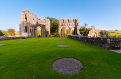 Dundrennan Abbey, Scotland Stock Photos