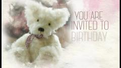 Birthday Invitation. Stock After Effects