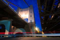 Walter Taylor Bridge - stock photo