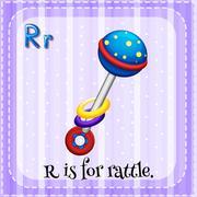 Rattle Stock Illustration