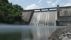 Norris Dam Tennessee State Park Rocky Top Stock Footage