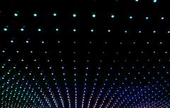 texture of many multicolored led lights - stock photo