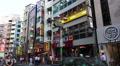 Busy Urban Street In Shibuya Tokyo Japan Tilt Shot Footage