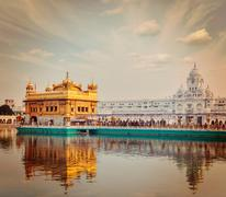 Golden Temple, Amritsar - stock photo