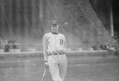 Ty Cobb parallax animation Stock Footage