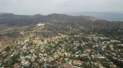 Griffith Park Observatory, Los Angeles, USA Stock Footage